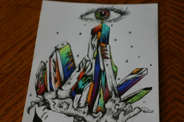 An eye over the colors of my soul - what is the cost of awakening?