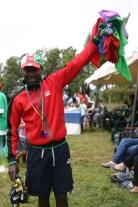 Mr. Wachira at Sports Day.