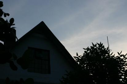 Brackenhurst at dusk.