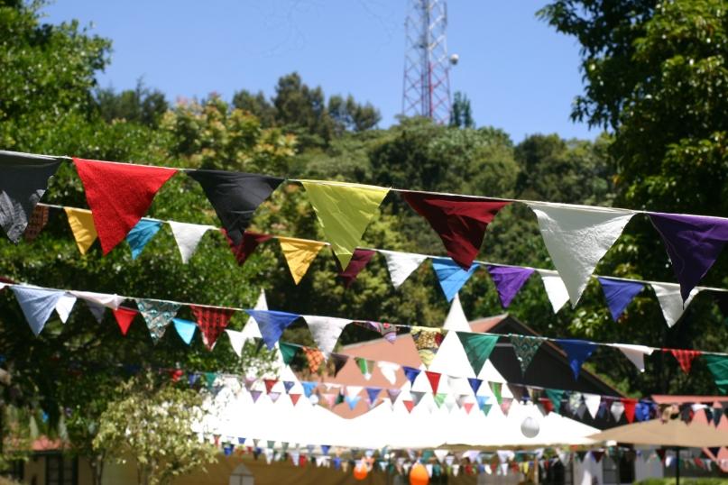 Brackenhurst Harvest Festival, all decked out for celebration.