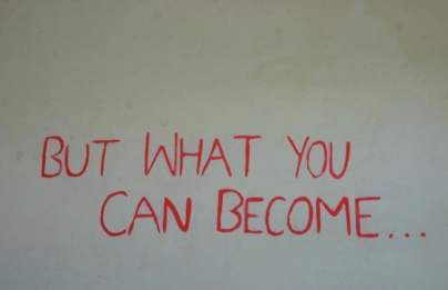 Part of the quote on the wall in the main room of Restart, which echoes the founding philosophy.