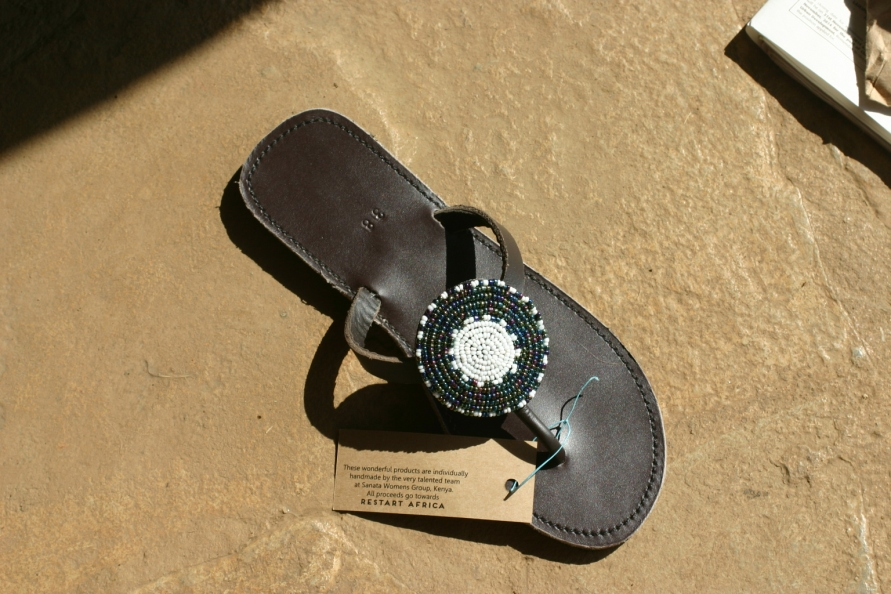 A shoe made by Sanata. They even custom-made me a pair for my little pixie feet!