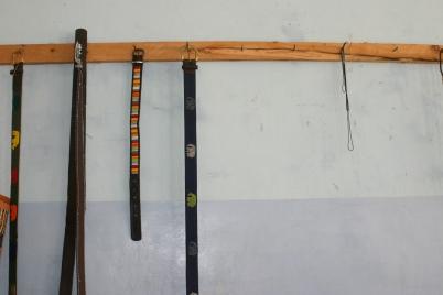 More arts and crafts by Sanata.